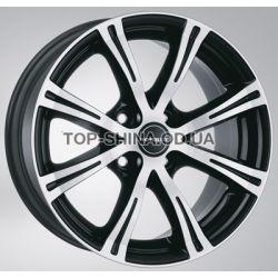 X8 black chrome polished