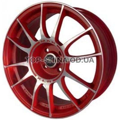 Диски Mak XLR 7x16 5x114,3 ET45 DIA76 (red mirror)