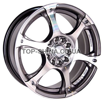 Диски Racing Wheels H-245 7x16 5x108/114,3 ET40 DIA73,1 (GM/FP)