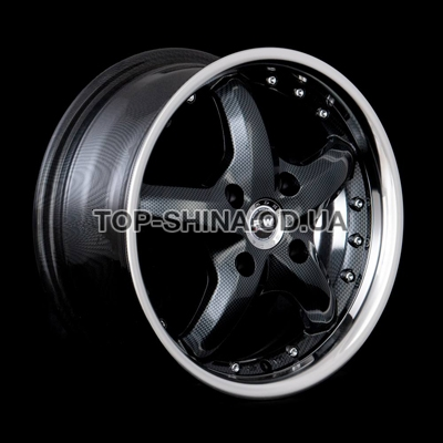 Диски Racing Wheels H-303 7x17 5x112 ET35 DIA73,1 (BK/P)