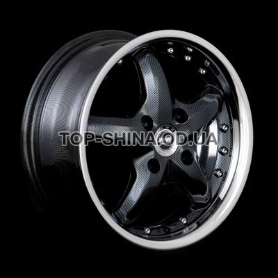Диски Racing Wheels H-303 7x17 5x112 ET35 DIA73,1 (BK/P)