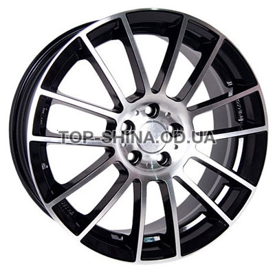 Диски Racing Wheels H-408 6,5x15 5x112 ET38 DIA66,6 (BK-F/P)