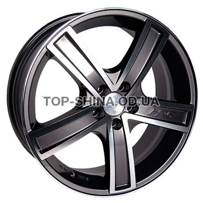 Диски Racing Wheels H-412 6,5x15 5x105 ET39 DIA56,6 (BK-F/P)