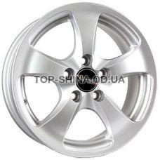 Tech Line TL403 5,5x14 4x98 ET32 DIA58,6 (silver)