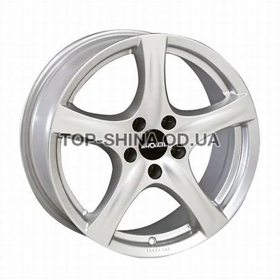 Диски Ronal R42 6,5x16 4x108 ET40 DIA76 (crystal silver)