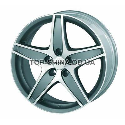 Диски Ronal R48 8,5x19 5x120 ET45 DIA82 (titanium front diamond cut)