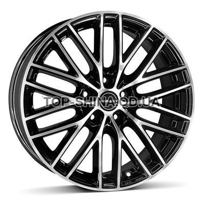 Диски Borbet BS5 7x16 5x105 ET40 DIA56,6 (black polished)