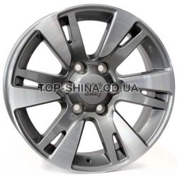 WSP Italy Toyota (W1765) Venere 7,5x18 6x139,7 ET25 DIA106,1 (anthracite polished)