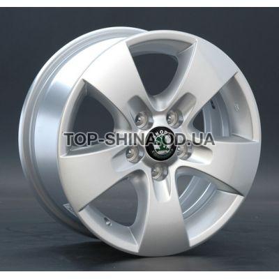 Диски Replay Skoda (SK10) 6x14 5x100 ET38 DIA57,1 (silver)