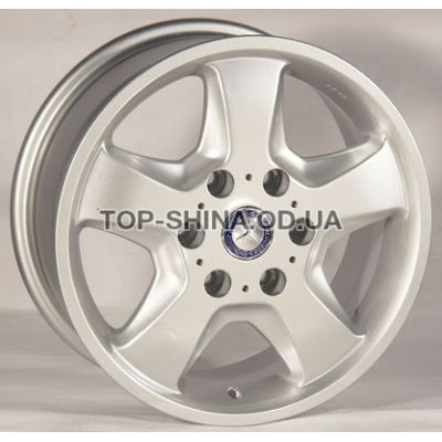 Диски TRW Z491 7x16 6x130 ET50 DIA84,1 (silver)