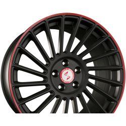 VENTI-R Mattschwarz Rot - Black Red