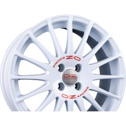 SUPERTURISMO WRC Race White + Red Lettering
