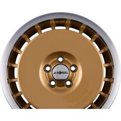 R50 AERO Racing Gold Hornpoliert