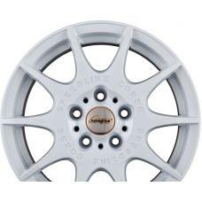 SPEEDLINE CORSE SL2 MARMORA Rallye-Weiss R15 W6.5 PCD4x108 ET42 DIA76