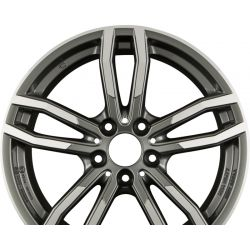 DRIVE X Metal-Grey Frontpoliert