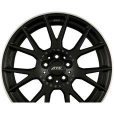 ATS CROSSLIGHT Racing-Schwarz Hornpoliert R19 W11.5 PCD5x130 ET45 DIA71.6