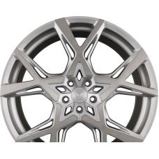 BARRACUDA PROJECT X Silver Brushed Surface R22 W10 PCD5x114.3 ET40 DIA73.1