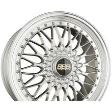 BBS SUPER RS Radstern Brillantsilber-Felgenbett Diamantgedreht R20 W8.5 PCD5x112 ET45 DIA82