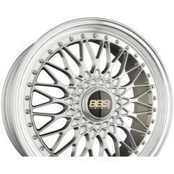 SUPER RS Radstern Brillantsilber-Felgenbett Diamantgedreht