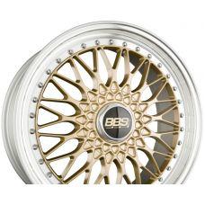 BBS SUPER RS Radstern Gold-Felgenbett Diamantgedreht R20 W8.5 PCD5x112 ET45 DIA82