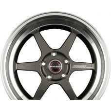 BORBET DB8-GT Graphite Rim Polished R18 W8.5 PCD5x120 ET40 DIA72.6