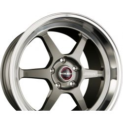 DB8-GT Graphite Rim Polished