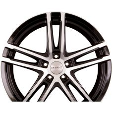 DEZENT TZ DARK - Black Polished R18 W7 PCD5x100 ET51 DIA57.1