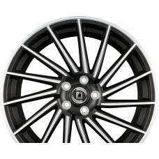 DIEWE WHEELS BRIOSA Black Diamond Matt R20 W8.5 PCD5x108 ET50 DIA63.4