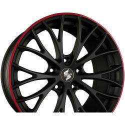 PIUMA Mattschwarz Rot - Black Red