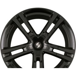 URIEL BLACK SHINY - Schwarz glanzend