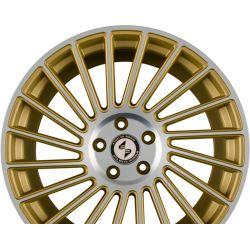 VENTI-R Gold Matt Full Polish