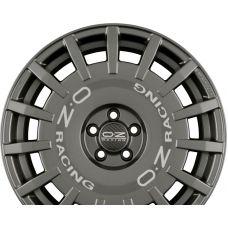 OZ RALLY RACING Dark Graphite + Silver Lettering R19 W8.5 PCD5x108 ET45 DIA75
