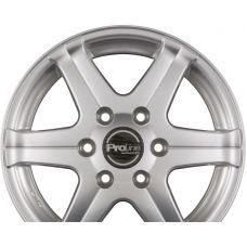 ProLine Wheels PV-T Arctic Silver (AS) R16 W6.5 PCD5x118 ET47 DIA71.1