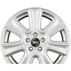 RH ALURAD NAJ II Sport Silber R18 W8 PCD5x108 ET45 DIA72.6