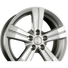 SKAD MITSAR Silver R16 W6.5 PCD5x114.3 ET38 DIA66.1