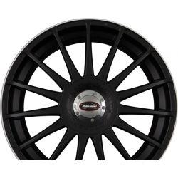 MONZA RS Racing-Black + Felgenhorn in White