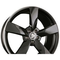 UA5-RS Black Rim Polished