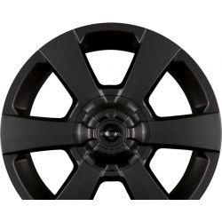 WP  Rad mit konvexem Deckel - Black Matt