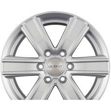 DEZENT TJ Silver R18 W8 PCD6x139.7 ET35 DIA67.1