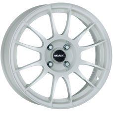 MAK XLR GLOSS WHITE R18 W7 PCD4x98 ET35 DIA58.1