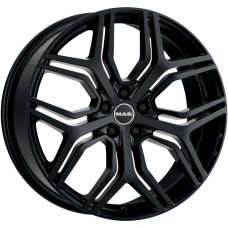 MAK KINGDOM GLOSS BLACK R22 W9.5 PCD5x108 ET43 DIA63.4