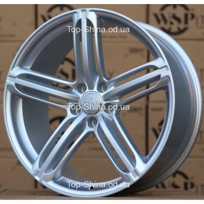 Диски WSP Italy AUDI W560 POMPEI SILVER R18 W8 PCD5x112 ET46 DIA57,1