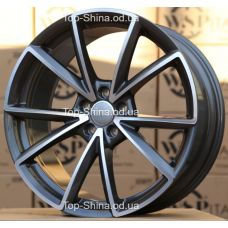 WSP Italy AUDI W569 AIACE ANTHRACITE POLISHED R20 W8,5 PCD5x112 ET43 DIA66,6