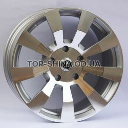 AFC-10 (forged) polished surface + silver insi