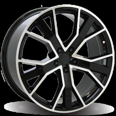 Диски Replica Audi (A520) 9x20 5x130 ET55 DIA71,6 (BKF)