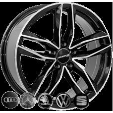 Replica Audi (BK690) 8x18 5x112 ET28 DIA66,6 (BP)