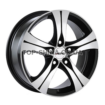 Диски Autec Ethos 7,5x17 5x108 ET45 DIA70,1 (black polished)