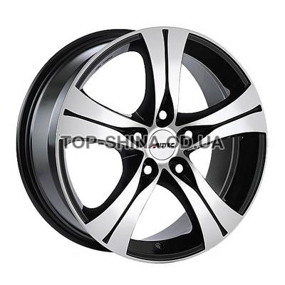Диски Autec Ethos 7x16 5x108 ET45 DIA70,1 (black polished)