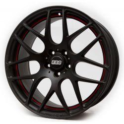BBS (DW1) matt black red under cut