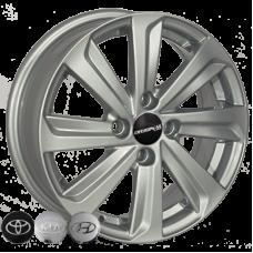 ZW BK736 5,5x14 4x100 ET35 DIA67,1 (silver)